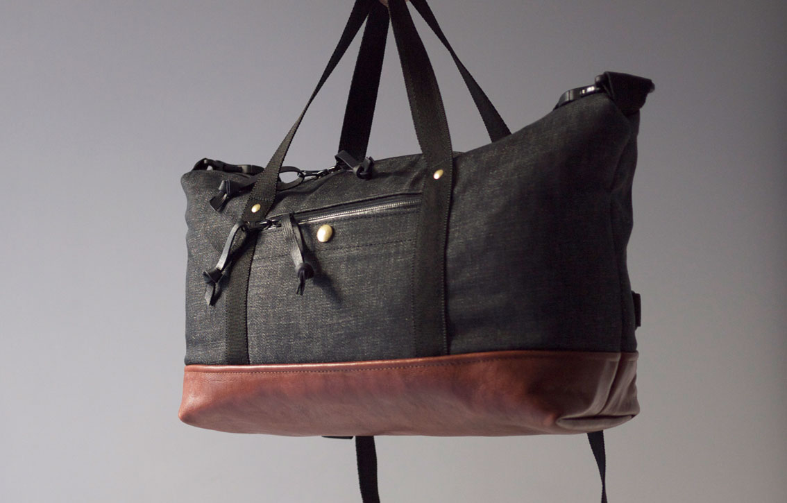 RIDER BAG DENIM & LEATHER