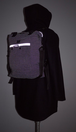 ALL DAY BAG REFLECTIVE (BACK-PACK)