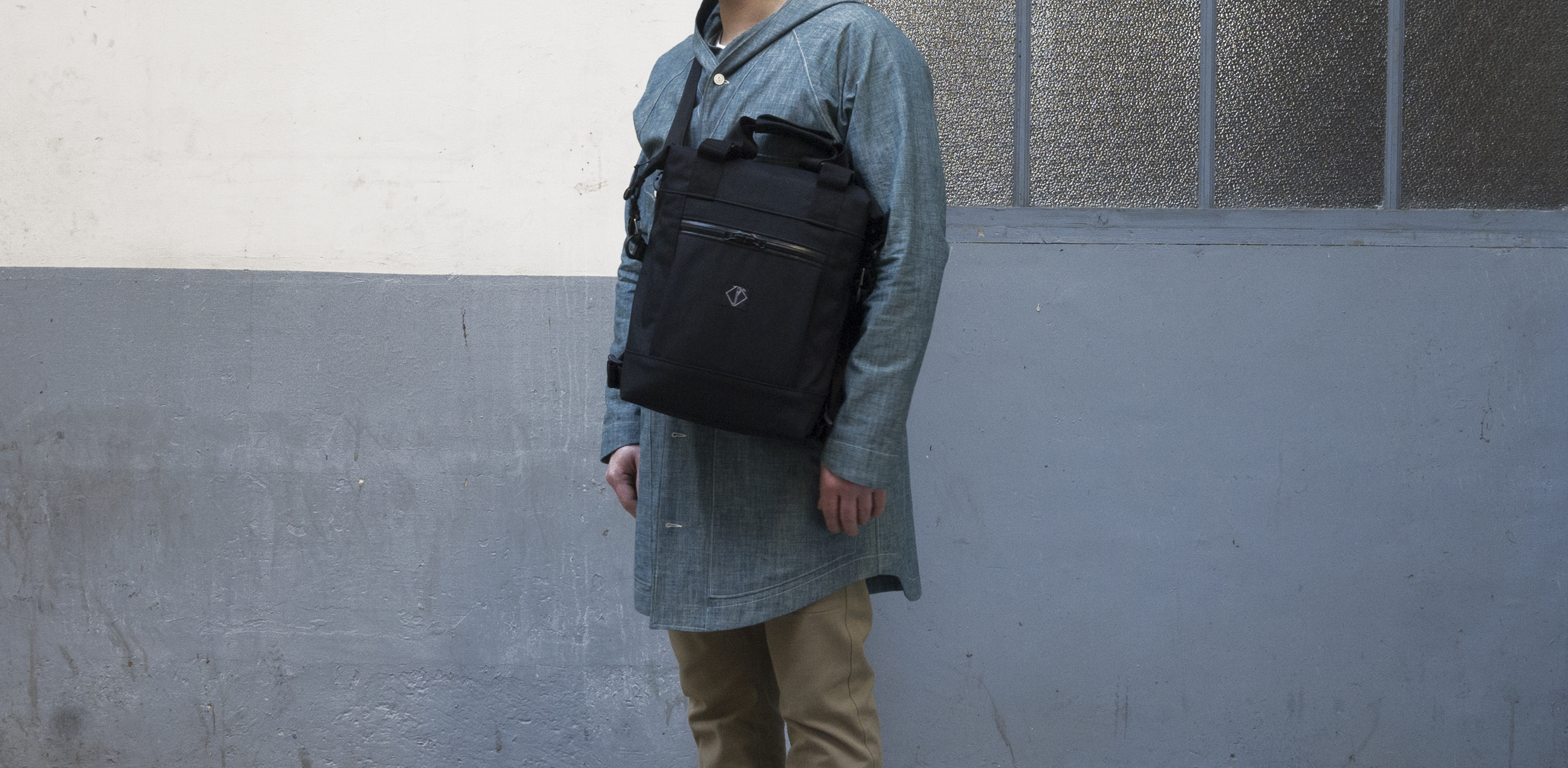 ALL DAY BAG BLACK CORDURA