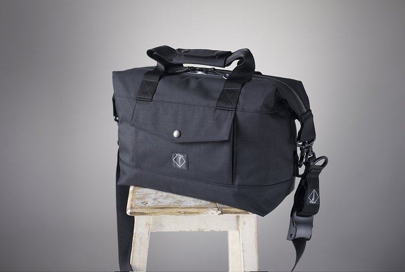RIDER BAG BLACK FULL CORDURA 13 INCH