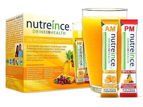 Nutreince Multivitamin Drink - Tropical Punch (56 packets/box)