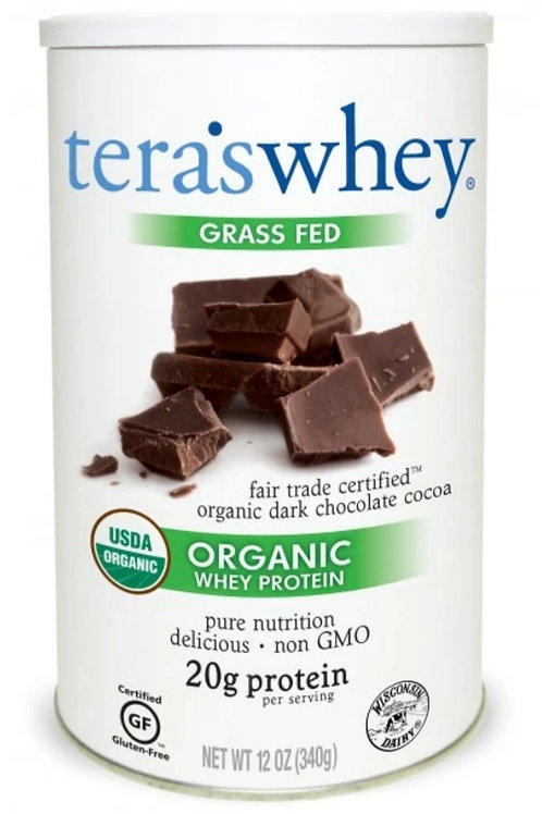 Tera's Whey Organic Protein, Fair Trade Certified, Grass Fed 12 oz
