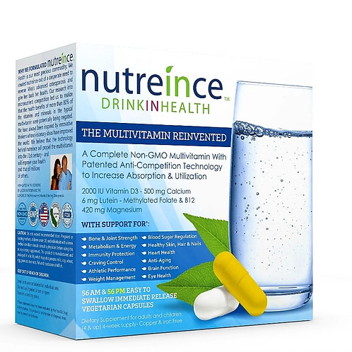 Nutreince Multivitamin - 112 AM and 112 PM capsules