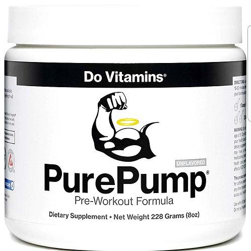 Do Vitamins - PurePump Natural Pre Workout, Certified Paleo,Vegan, Non-GMO