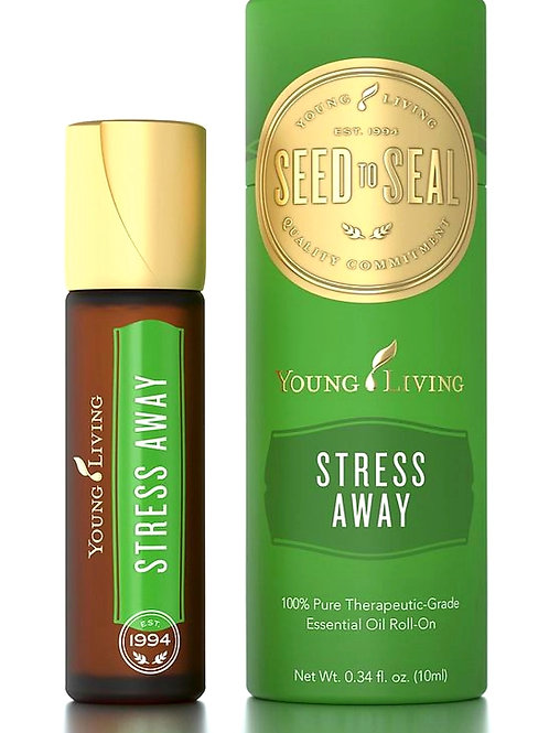 Young Living's proprietary Stress Away™ Roll-On 10ml