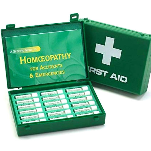 Homeopathic Emergency Kit - 18 Homeopathic Remedies (200c potency)