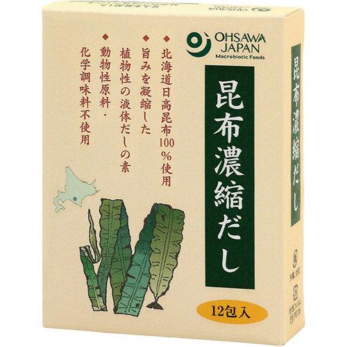北海道日高昆布濃縮高湯 (5克 X 12包)
