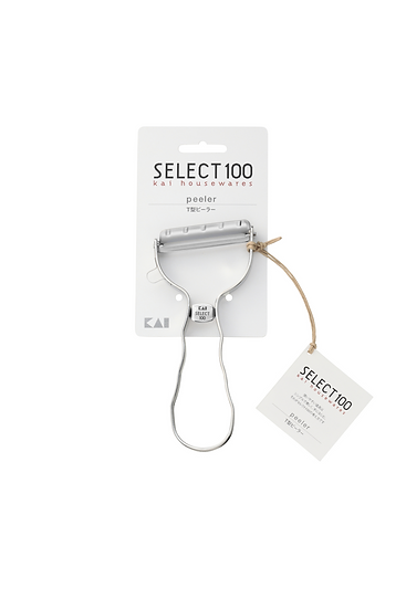 KAI貝印 | Select100系列 全不鏽鋼高級刨皮器(T型PEELER)