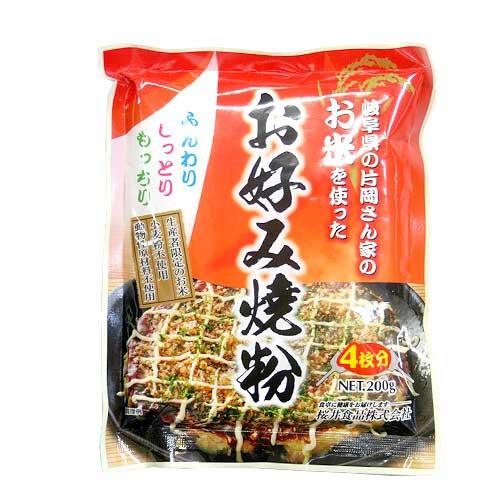 純素無麩質米粉製大阪燒粉