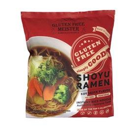 VEGAN & GLUTEN FREE RAMEN (SOY SAUCE FLAVOR)  純素無麩質拉麵 醬油風味