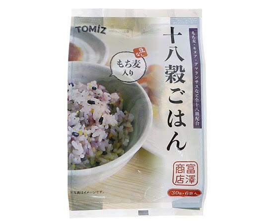 富澤商店|TOMIZ 十八殼米 180g(30g×6)