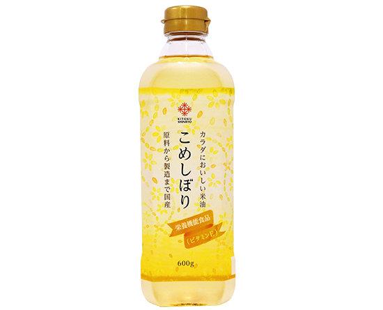 こめしぼり 日本國產米油 600g