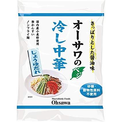純素中華冷拌麺(日本醤油味)