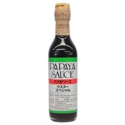 PAPAYA SAUCE 天然發酵熟成日本喼汁