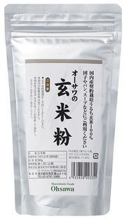 秋田産 純玄米粉