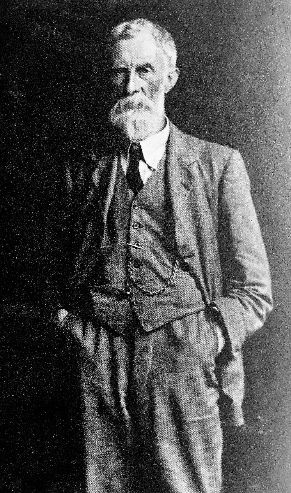 Frank Meadow Sutcliffe, self portrait