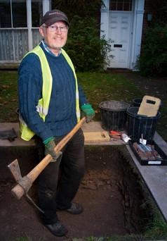 Allan Crease - Secretary, Lincoln Archaeology Group
