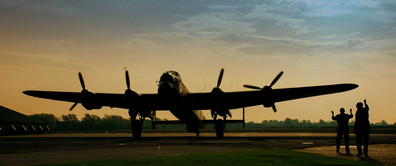 Just Jane, one of the last remaining Lancaster bombers.