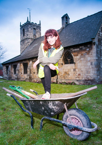 Katie - the other hairpin sister and archaeology student