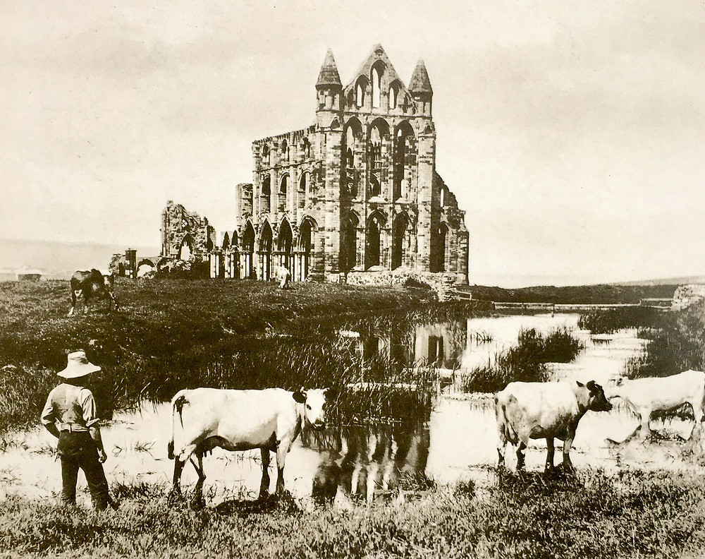 Whitby Abbey by Frank Meadow Sutcliffe
