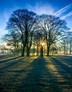 Winter dawn in Riseholme, Lincolnshire