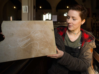 Here be Dragons - Recording and recreating Medieval Church Graffiti