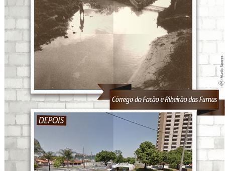 Confluência do Córrego do Facão e Ribeirão das Furnas