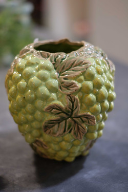 Vase raisins Marlies Fleurs fleuriste Ni