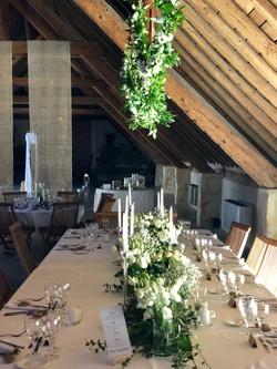 centres-de-tables-mariage-lisiantus Marlies Fleurs fleuriste Nimes