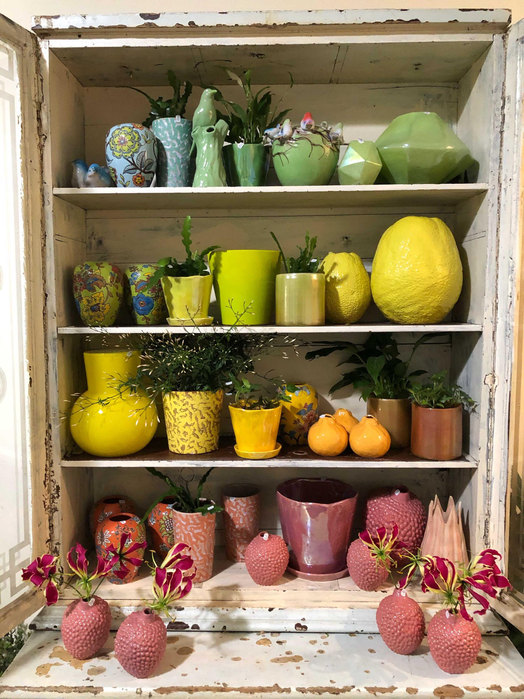 Assortiment pots et vases fruits Marlies Fleurs fleuriste Nîmes