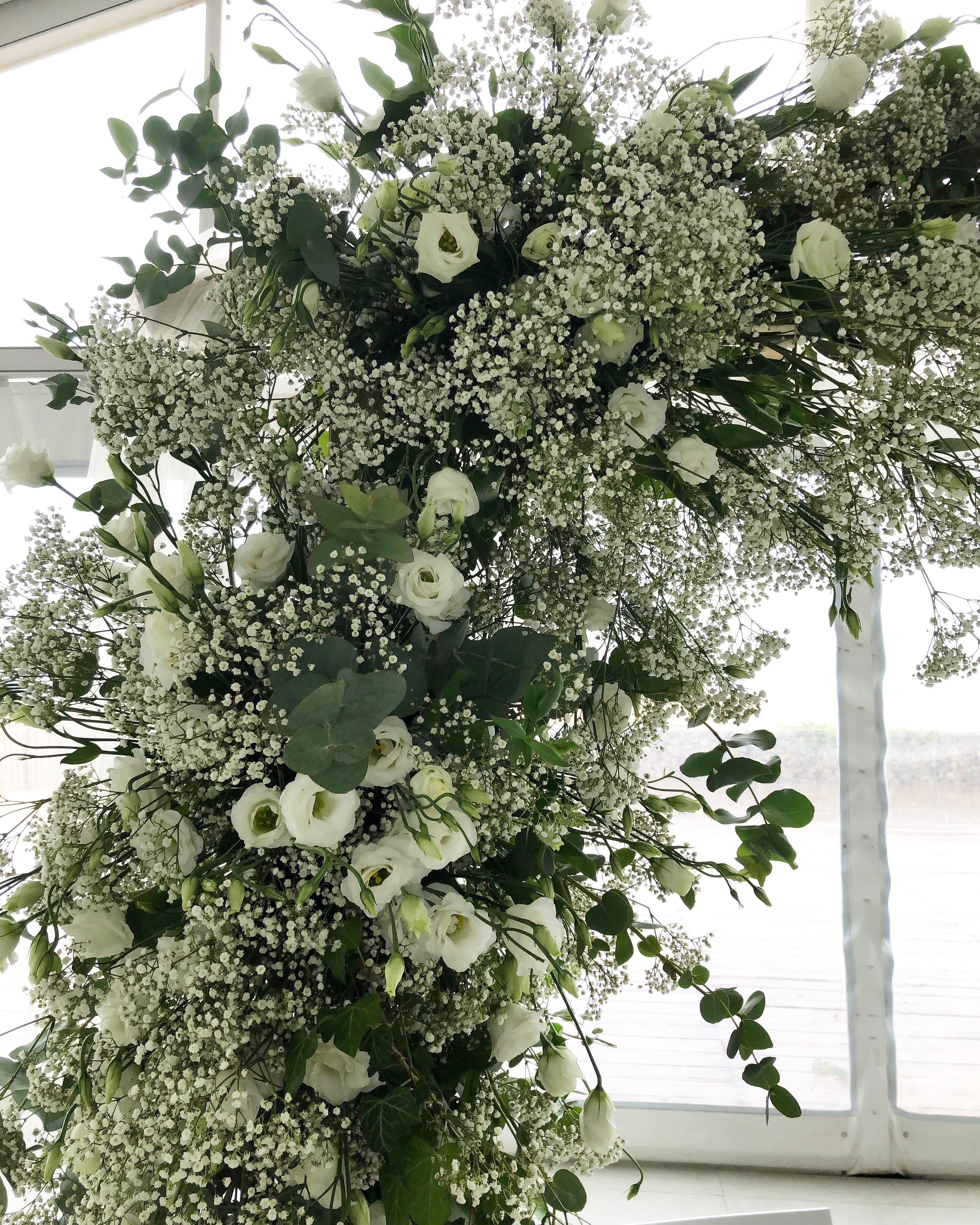 Arche mariage Marlies Fleurs fleuriste N