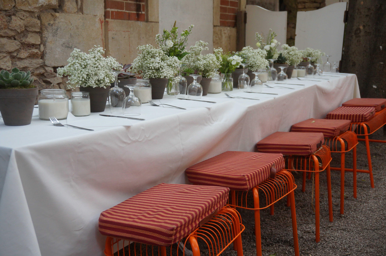 centre-de-table-mariage-gypsophile Marlies Fleurs fleuriste Nimes