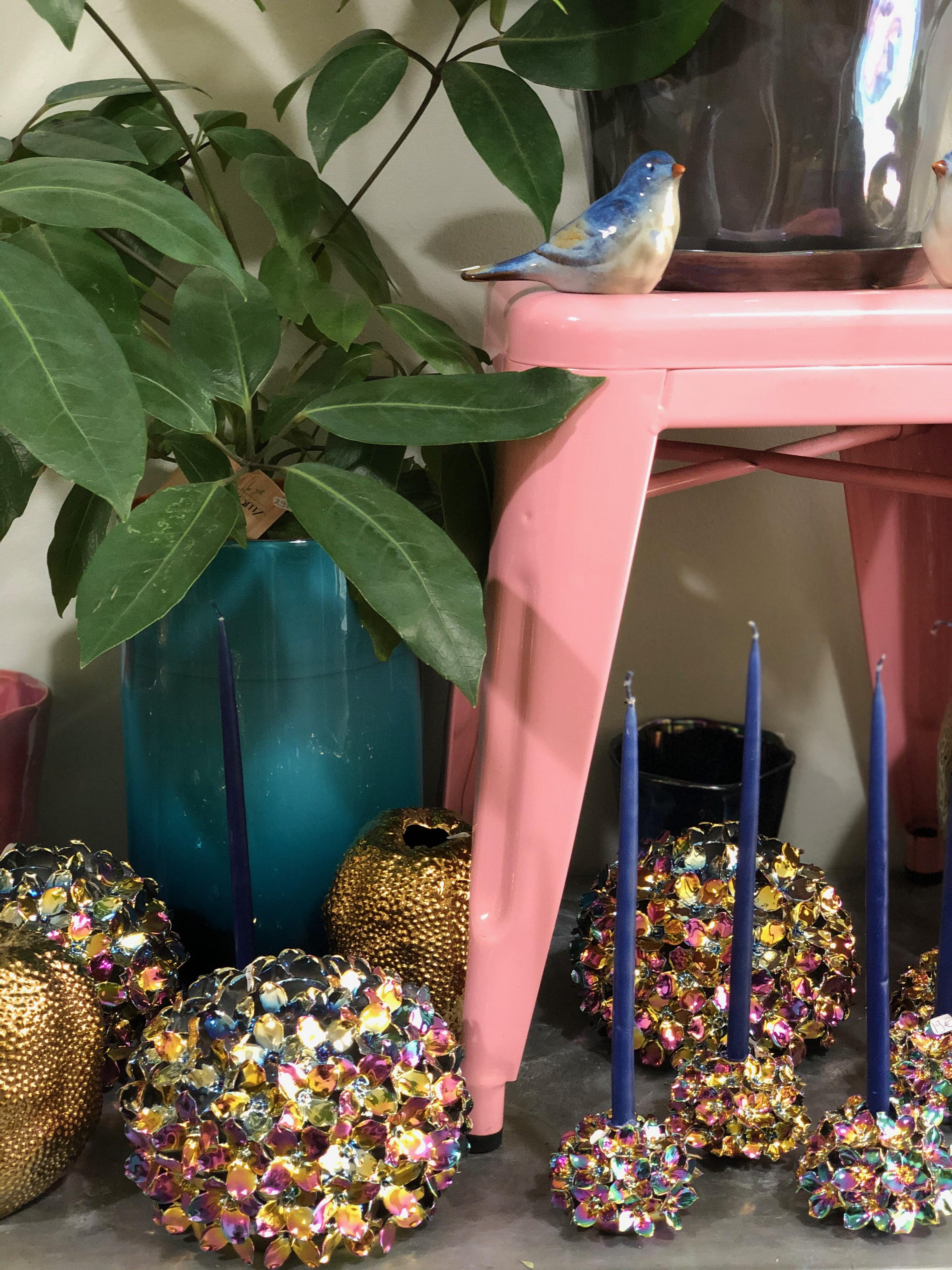 Assortiment vases hortensias Marlies Fle