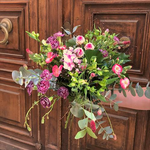 Bouquet champêtre eucalyptus - à partir de