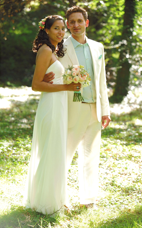 Bouquet mariée roses Marlies Fleurs fleu