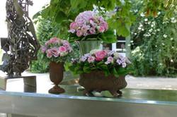 Compositions mariage Mas Merlet Marlies Fleurs fleuriste Nimes