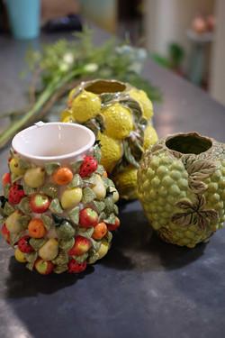 vases fruits Marlies Fleurs fleuriste ni