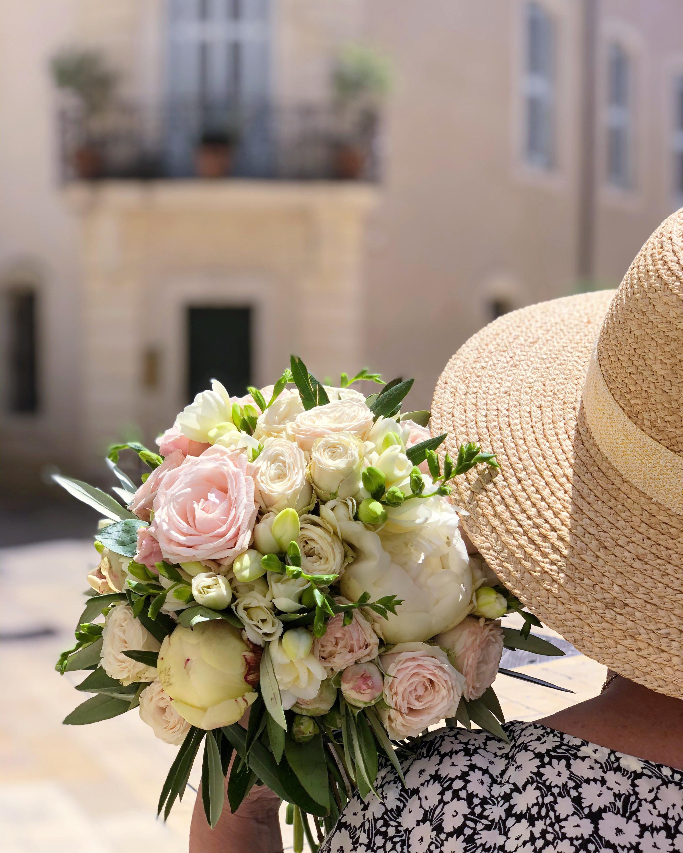 Bouquet de mariée Chateau de Pondres Mar
