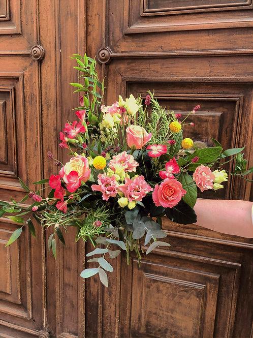 Bouquet champêtre romarin