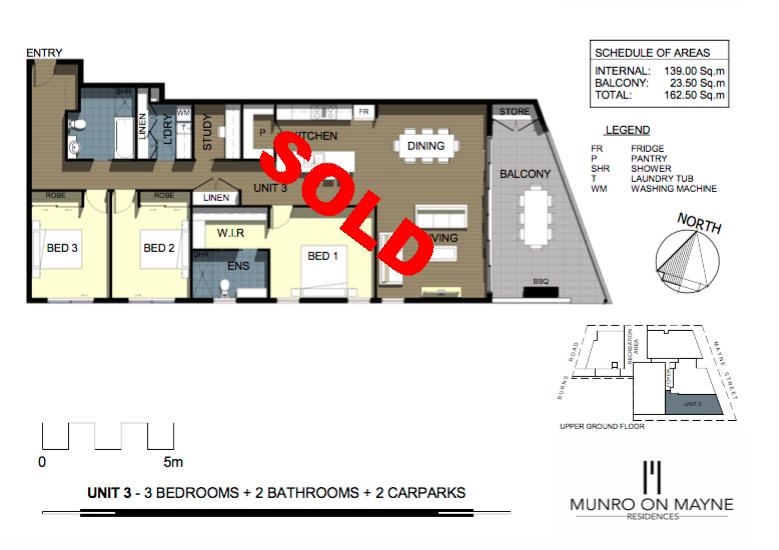 Apartment 3 - Sold
