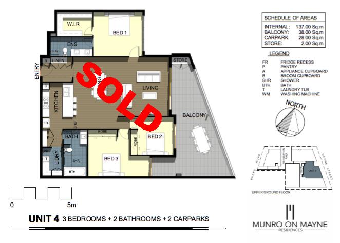 Apartment 4 - Sold