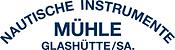 Muhle logo blue white.png