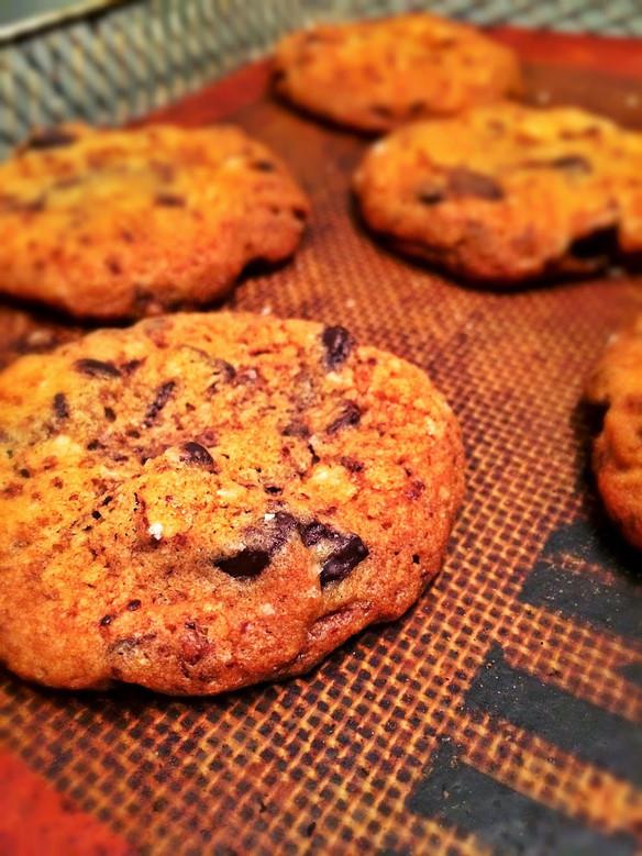 Chocolate Chip Cookies à la Fleur de Sel
