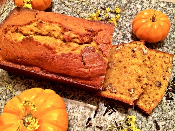 Pecan Pumpkin Bread