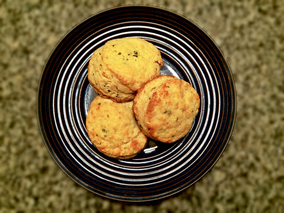Chive and Cheese Biscuits