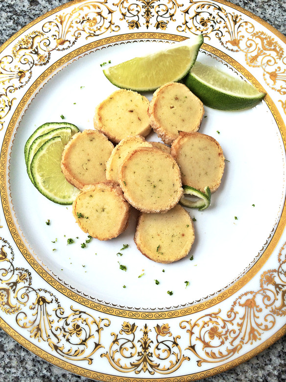 Lime Scented Shortbreads
