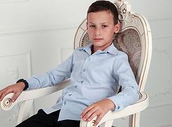 Рубашка для мальчика must have для школы