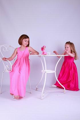 Сарафан нежно-розовый с бантиком