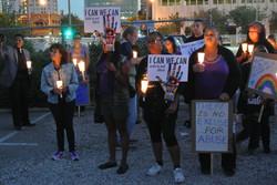 Site#1: Long Beach public projection