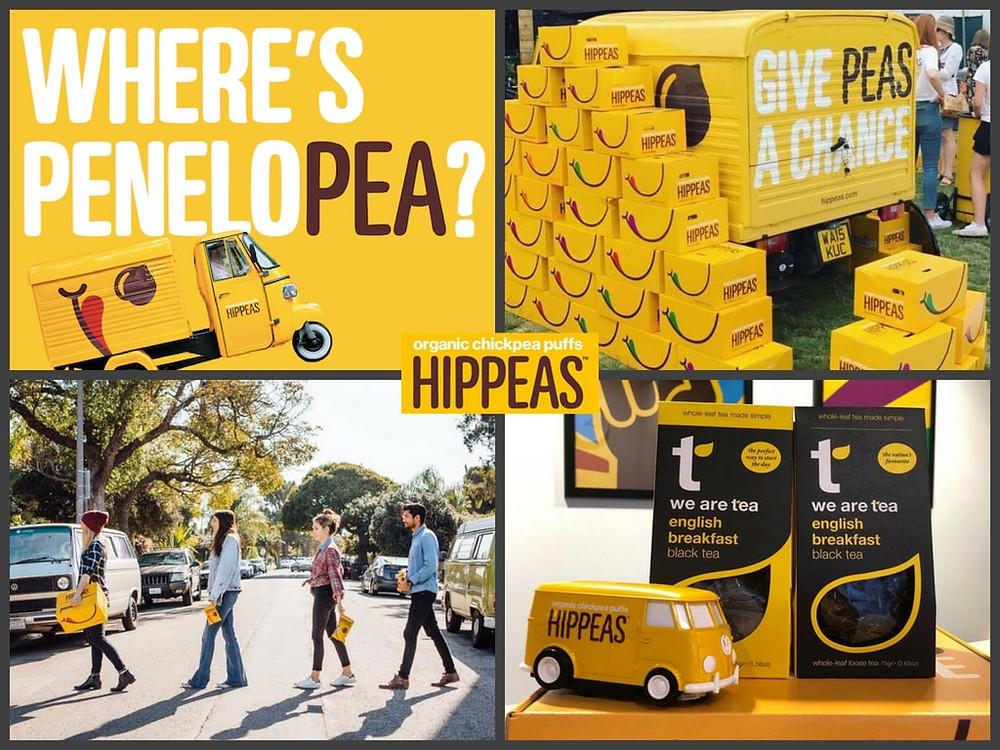 Hippeas | Brand Identity